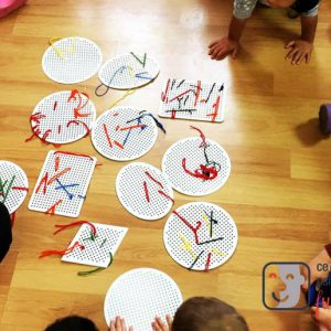 """""""Personalitatea în culori și forme"""" în cadrul Montessori"""