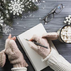Mini-jurnalul recunostintei pentru luna decembrie (exercitiu practic)